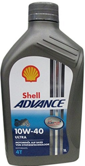 Motorno ulje Shell ADVANCE ultra 4T 10W-40, 1 litar